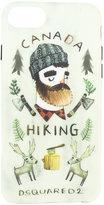 DSQUARED2 Lumberjack print iPhone 6/6s case