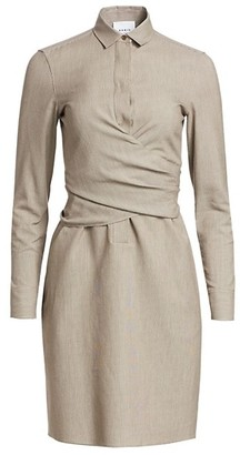 Akris Punto Tied Wrap Dress