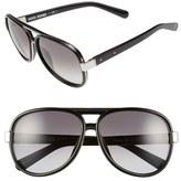 Bobbi Brown 'The Jake' 59mm Aviator Sunglasses