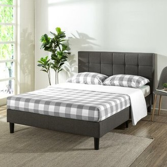 Ebern Designs Gervais Upholstered Platform Bed Size: Queen