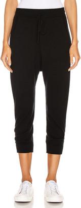 Nili Lotan Paris Cashmere Sweatpant in Black | FWRD