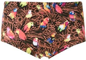 AMIR SLAMA Papagaio trunks