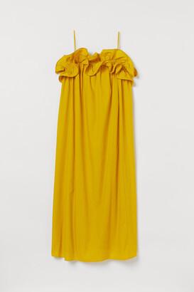 H&M Flounce-trimmed dress