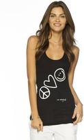 Peace Love World I am Original Tank