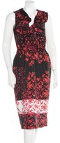 Preen Line Printed Sleeveless Dress w/ Tags
