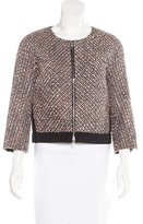 Nina Ricci Wool-Blend Tweed Jacket