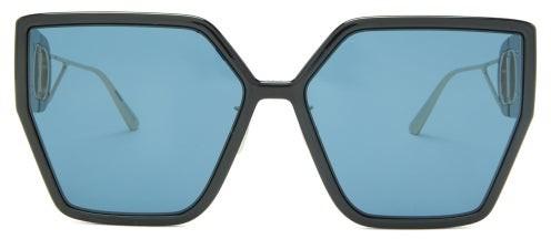 Christian Dior 30montaigne Butterfly Acetate Sunglasses - Black Blue