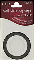 Cina Nail Creations Silver Nail Striping Masking Tape