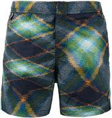 Missoni geometric print swim shorts