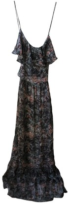 Gat Rimon Grey Silk Dress for Women