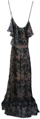 Gat Rimon Grey Silk Dresses