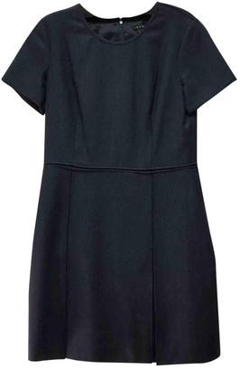 Theory Blue Wool Dresses