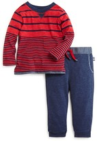 Splendid Infant Boys' Striped Shirt & Joggers Set - Sizes 0-24 Months