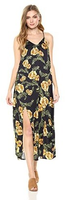 Somedays Lovin Women's River Running Floral Print Maxi Dress