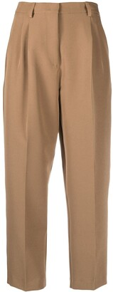Societe Anonyme Cropped High-Waisted Trousers
