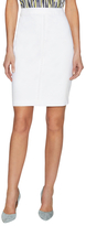 Ava & Aiden Solid Pencil Skirt
