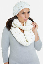 Fashion to Figure Vail Studded Hat and Scarf Set
