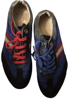 Bally Blue Rubber Trainers