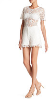 Julian Chang Lima Lace Romper