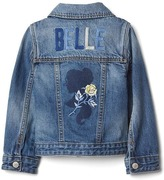 Gap babyGap | Disney Baby Belle denim jacket