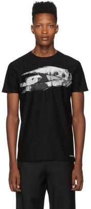 Alexander McQueen Black Print T-Shirt
