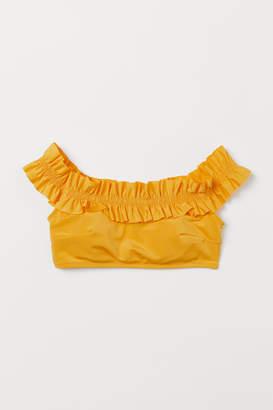H&M Off-the-shoulder Bikini Top