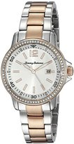 Tommy Bahama Women's 10019256 Island Breeze Analog Display Japanese Quartz Silver Watch