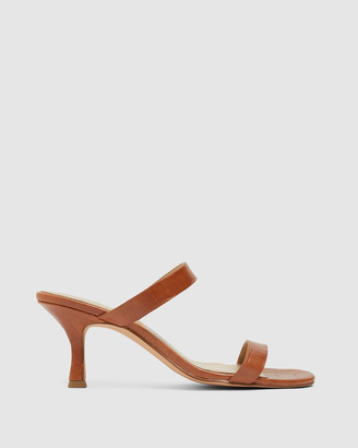 Jane Debster - Women's Brown Heeled Sandals - Eva - Size One Size, 9 at The Iconic