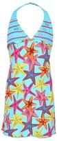 Pate De Sable Ocean Halterneck Dress