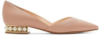 Nicholas Kirkwood Pink Casati DOrsay Ballerina Flats
