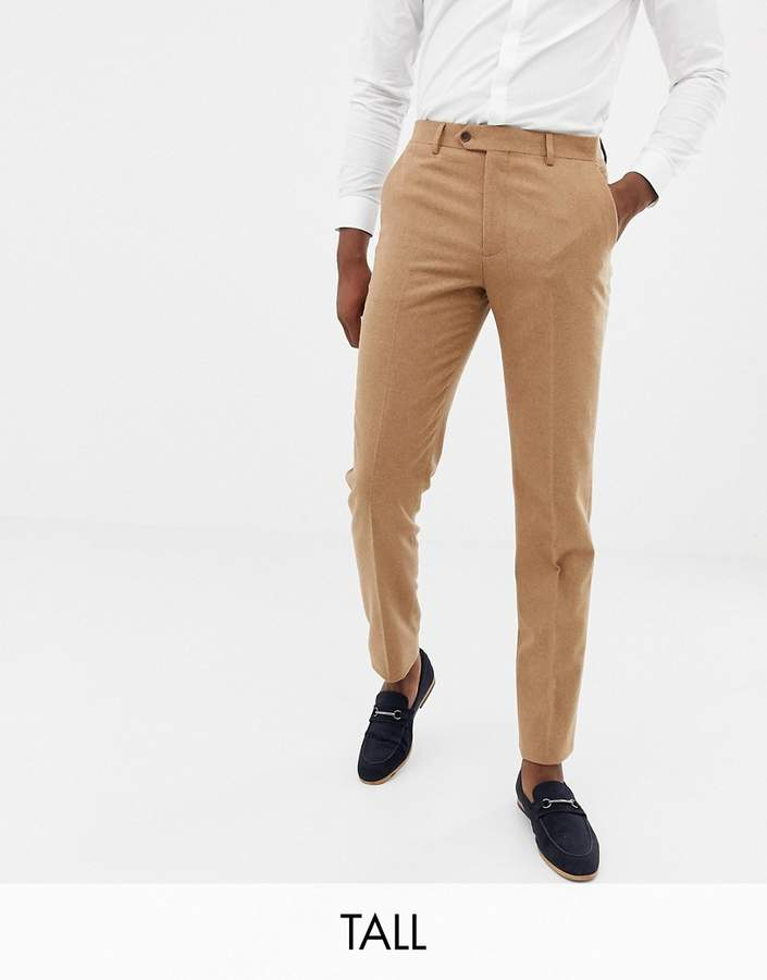 Gianni Feraud Tall slim fit wool blend suit pants