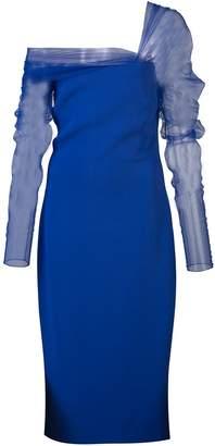 Cushnie off-the-shoulder midi dress
