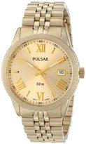 Pulsar Women's PS9218 Analog Display Japanese Quartz Gold Watch