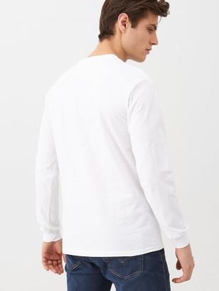 Very Long Sleeved T-Shirt - White
