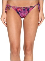 Tommy Bahama Jacobean Floral Beaded String Bikini Bottom