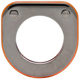 Maison Martin Margiela Ring in Neon Orange Plexi