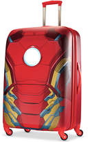 """Marvel 65% OFF Iron Man 28"""" Hardside Spinner Suitcase by American Tourister"""