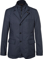 Hackett - Slim-fit Water-resistant Shell Jacket With Detachable Bib