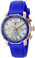 Swiss Legend Women's 16192SM-RG-02-BLUB Blue Geneve Analog Display Swiss Quartz Bluee Watch