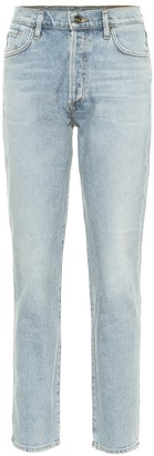 Gold Sign The Benefit high-rise skinny jeans
