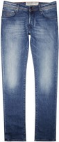 Jacob Cohën Light Blue Faded Slim-leg Jeans