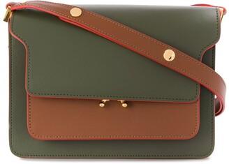 Marni Trunk colourblock shoulder bag