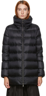 Moncler Black Down Anges Coat