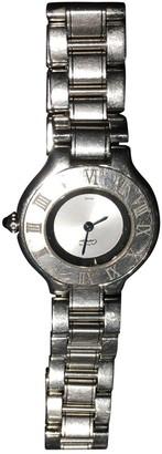 Cartier Must 21 Grey Steel Watches