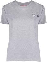 Chiara Ferragni Flirting embroidery slim-fit T-shirt