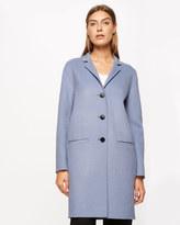Jigsaw Double Face Oval Coat