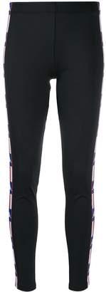 Kappa logo tape leggings