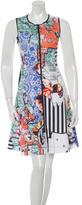 Clover Canyon Printed A-Line Dress
