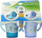 Born Free BPA-Free Grow with Me 6 oz. Training Cup, 2 Count