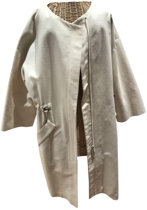 Brunello Cucinelli Ecru Cotton Coat for Women